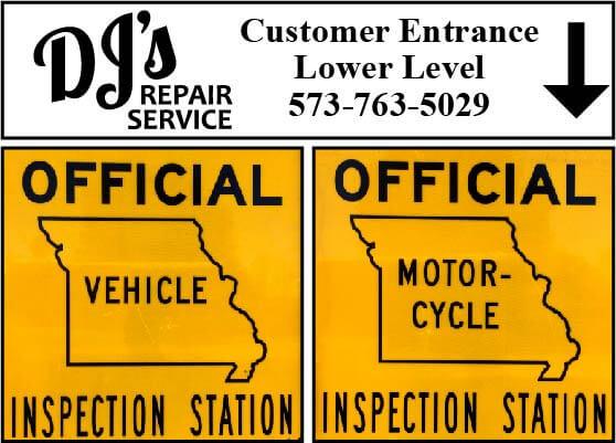 Missouri inspection station
